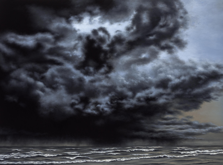 Black Veil Over Lake Erie