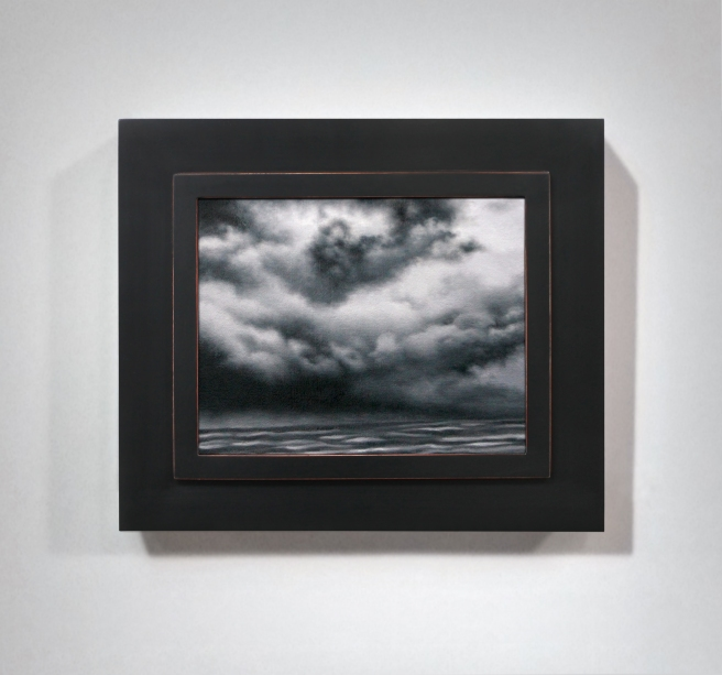 storm over lake erie_study_framed